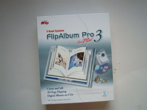 FLIP ALBUM BOOK SYSTEMS PRO 3 FOR MAC OS X SOFTWARE